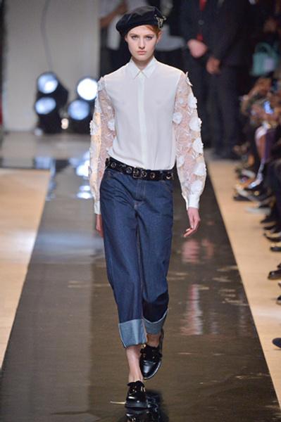 Неделя моды в Париже: показы Alexander McQueen и Paul & Joe ready-to-wear осень — зима 2015-2016   галерея [2] фото [13]