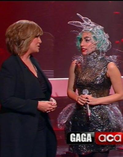 Леди ГаГа (Lady GaGa) приняла участие в теле-шоу.