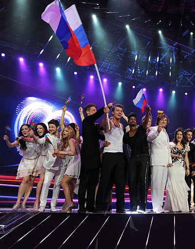 Алексей Воробьев выступил в полуфинале с песней Get You.