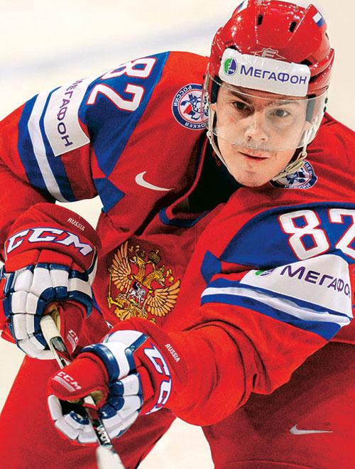 Евгений Медведев, хоккей
