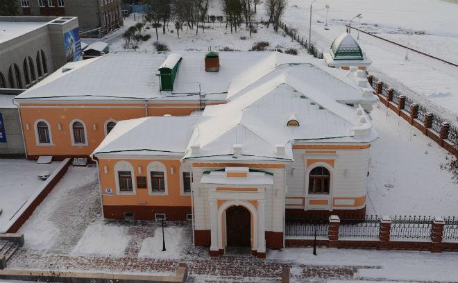 Резиденция Колчака в Омске