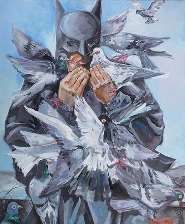 """Картина Александра Воронова из цикла """"Супербудни"""", фото"""