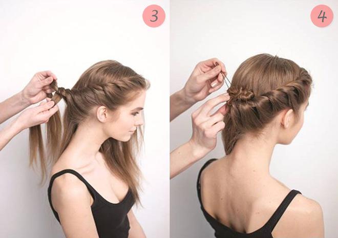 Легкие причёски на средние волосы своими руками