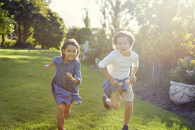 Детские игры на свежем воздухе