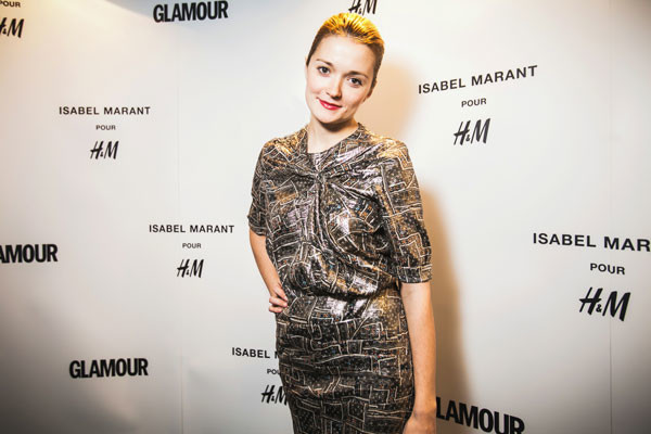 Надежда Михалкова на презентации Isabel Marant pour H&M