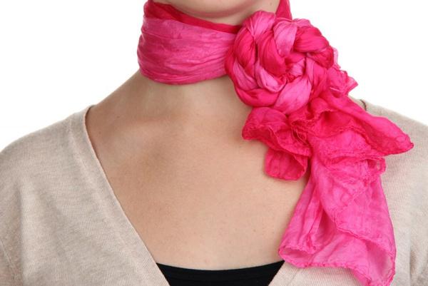 Шейный платок: как завязать