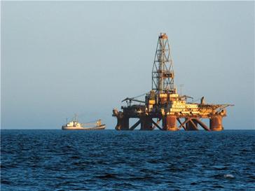 Авария на нефтедобывающей платформе
