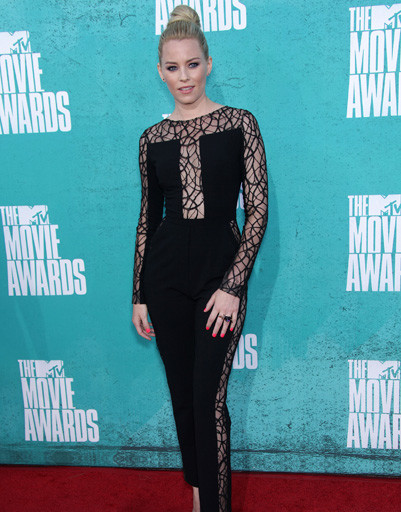 Элизабет Бэнкс (Elizabeth Banks) на MTV Music Awards 2012
