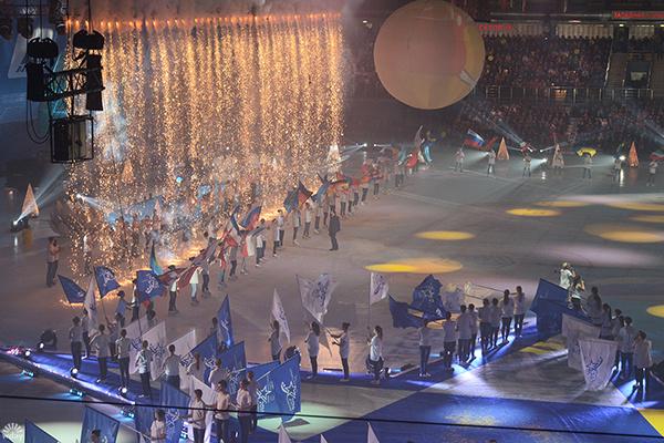 Бенди 2016: чемпионат мира по хоккею с мячом в Ульяновске: фото с церемонии открытия