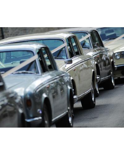 Официальный автомобиль свадьбы Кейт Мосс и Джейми Хинса.