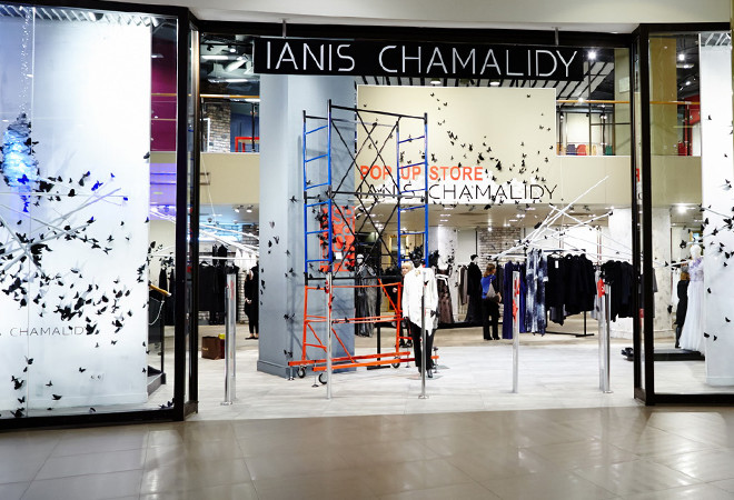 Pop Up Store Ianis Chamalidy,ТРК «Галерея»