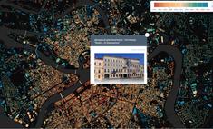 российский картограф карту санкт-петербурга информацией тысячах зданий