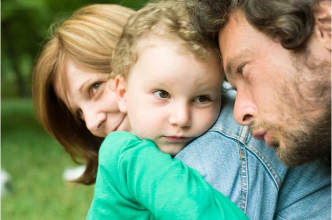 Семья: папа, мама, сын
