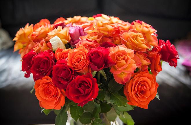 Сколько роз дарить