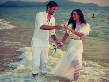 Таня Терешина и Слава Никитин стали мужем и женой