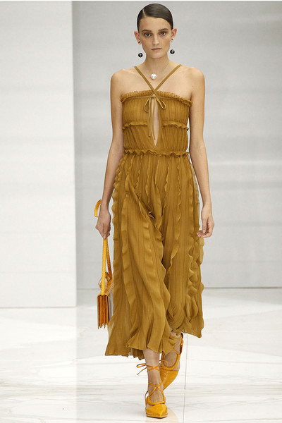 50 лучших платьев Недели моды в Милане | галерея [1] фото [26]