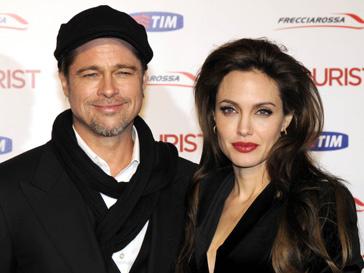 Анджелина Джоли (Angelina Jolie) и Брэд Питт (Brad Pitt)