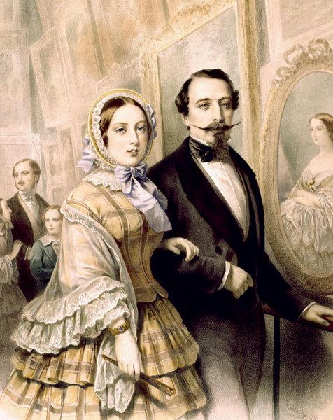 Портрет Виктории и Альберта.