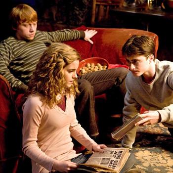 Кадр из фильма «Гарри Поттер и Принц-полукровка».
