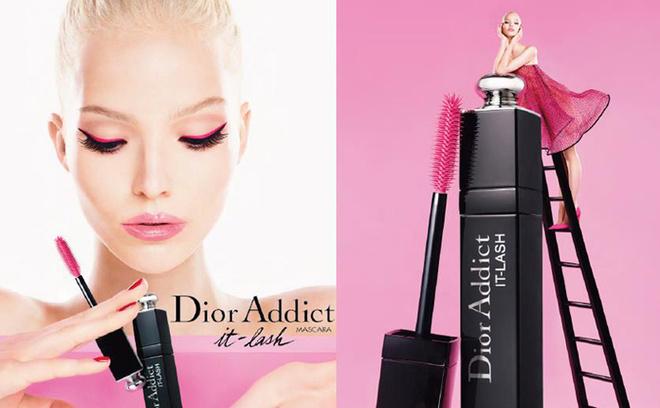 Dior снова признался в любви российской модели Dior Addict It-Lash