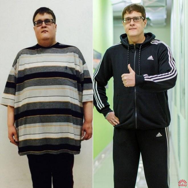 Пермяк похудел на 100 кг