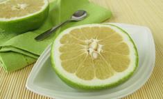 Пробуем цитрусовый фрукт помело