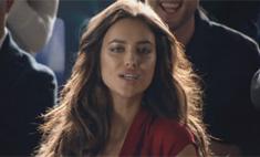 Ирина Шейк снялась в необычной рекламе Nike