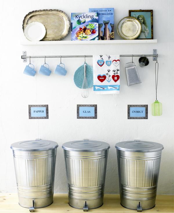 Как разместить кулинарные книги на кухне