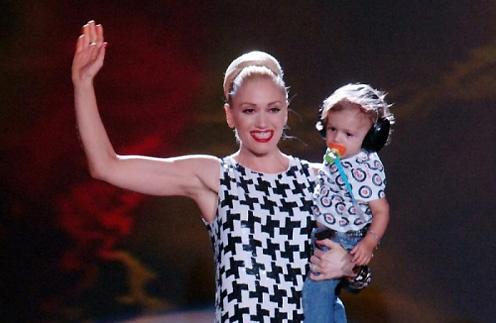 Гвен Стефании с сыном Кингстоном
