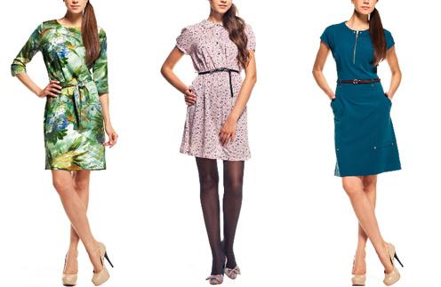 Платья из коллекции Incity, коллекция осень-зима 2011/12