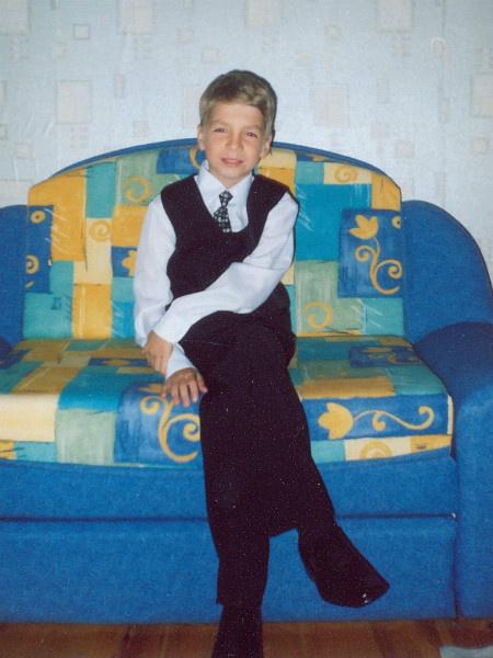 Даниил Вахрушев в детстве, фото