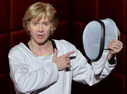 Евгений Миронов в спектакле «Гамлет | Коллаж» Театра наций