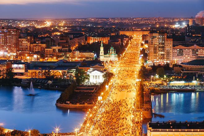 Красивый Челябинск