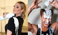 Ice Kefir Challenge: звезды под кефирным душем!