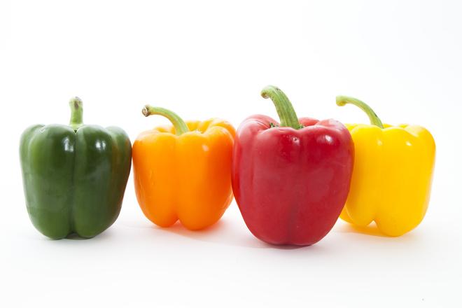 как почистить болгарский перец