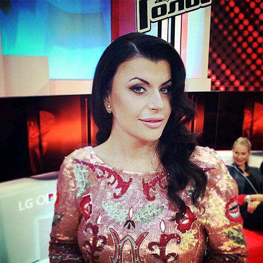 Рената Волкиевич на шоу Голос 4 сезон