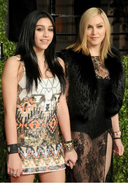Лурдес и ее мама Мадонна