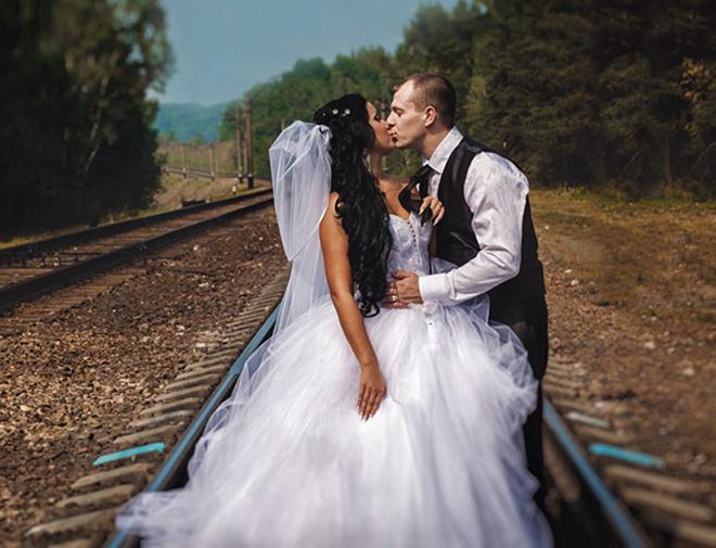 Свадебные фото Новосибирск