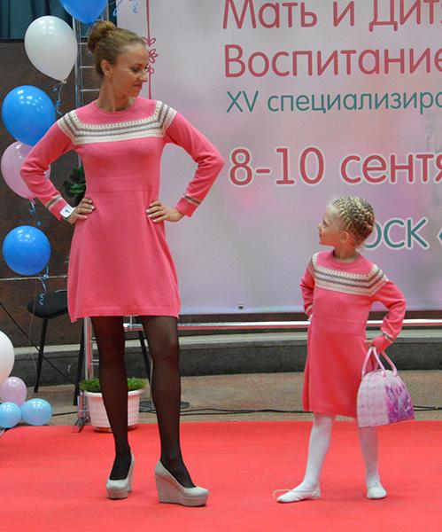 Татьяна и Ксения Курносовы, маленькие копии мам