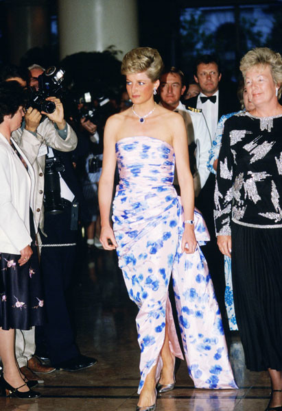 Принцесса Диана, 1988 год