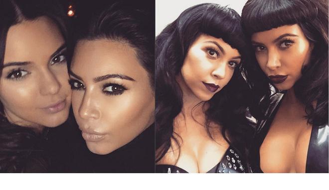 Ким Кардяшьян уменьшает нос для снимков в Instagram