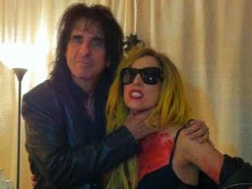 Леди ГаГа (Lady GaGa) и Элис Купер (Alice Cooper) нашли много общего