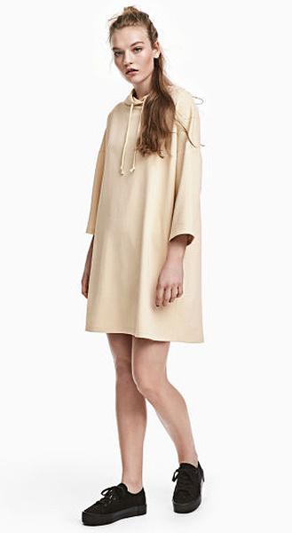 Платье с капюшоном H&M, фото