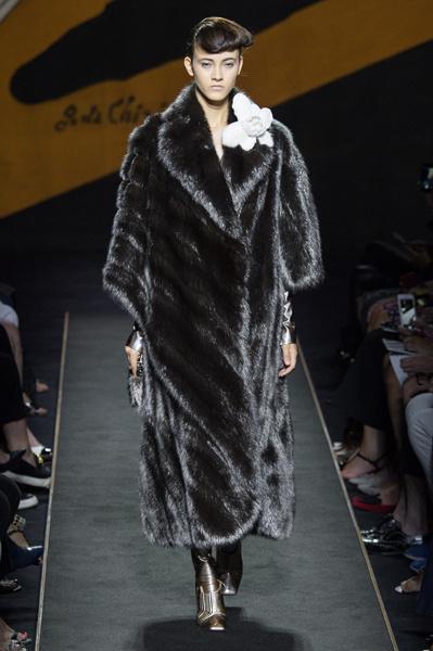 Fendi Haute Couture осень-зима 2015
