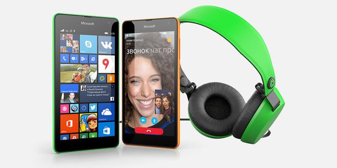 Дарите близким общение, внимание и яркие моменты вместе с Microsoft Lumia 535!