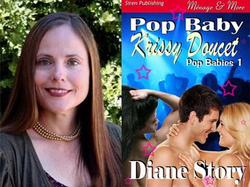 Диана Стори (Diane Story) и ее новый эротический роман