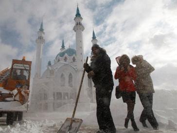 Иностранцы по-прежнему боятся русской зимы.
