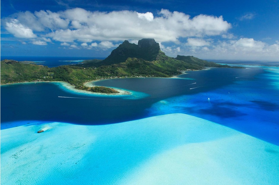 9. Бора-Бора, Французская Полинезия
