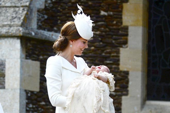 Кейт Миддлтон и принцесса Шарлотта