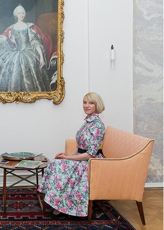 Мария Телятникова (представитель Ecco)